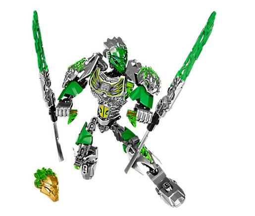 XSZ 610-1 BionicleMask of Light Bionicle Lewa Jungle Keeper of the Grove Building Block Compatible with Lepin 71305 Toys a toy a dream xsz 707 3 bionicle cali master of water xsz building block bricks toys monster figures sets baby toys