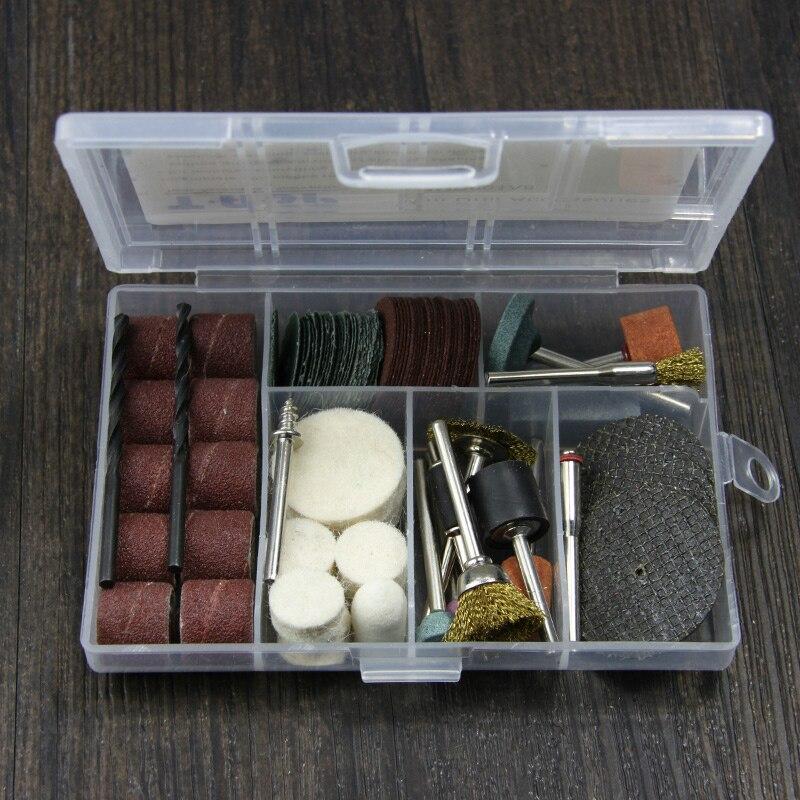 105pcs accessori per utensili rotanti 3.2mm gambo diyer levigatura - Accessori per elettroutensili - Fotografia 4