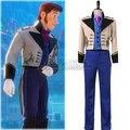 Nieve prince hans pantalones chaleco chaqueta camisa chaqueta smoking tux cosplay disfraces de halloween outfit uniformes para los hombres