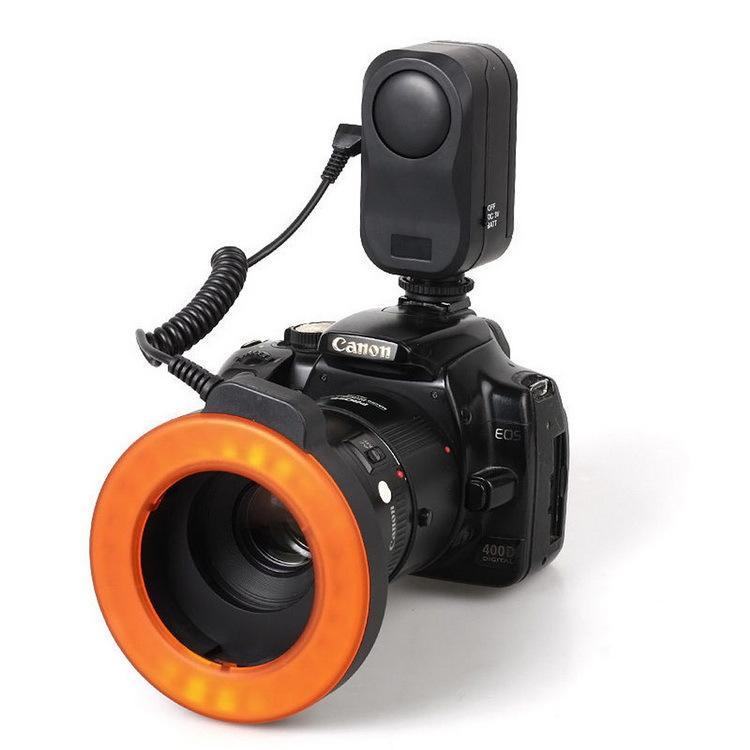 WANSEN WSLED48 makro valgustus 48 LED-videorõnga välklamp Nikon - Kaamera ja foto - Foto 2