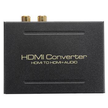 Ekstraktor dźwięku HDMI konwerter 5 1CH rozdzielacz audio 1080P Stereo analogowe HDMI na HDMI optyczne SPDIF RCA L R Adapter konwertery tanie i dobre opinie Pohiks Kable HDMI HDMI 2 0a HDMI Audio Splitter Kobiet-Kobiet Pakiet 1 HDMI2 0 Multimedia Woreczek foliowy Nie ekranowany