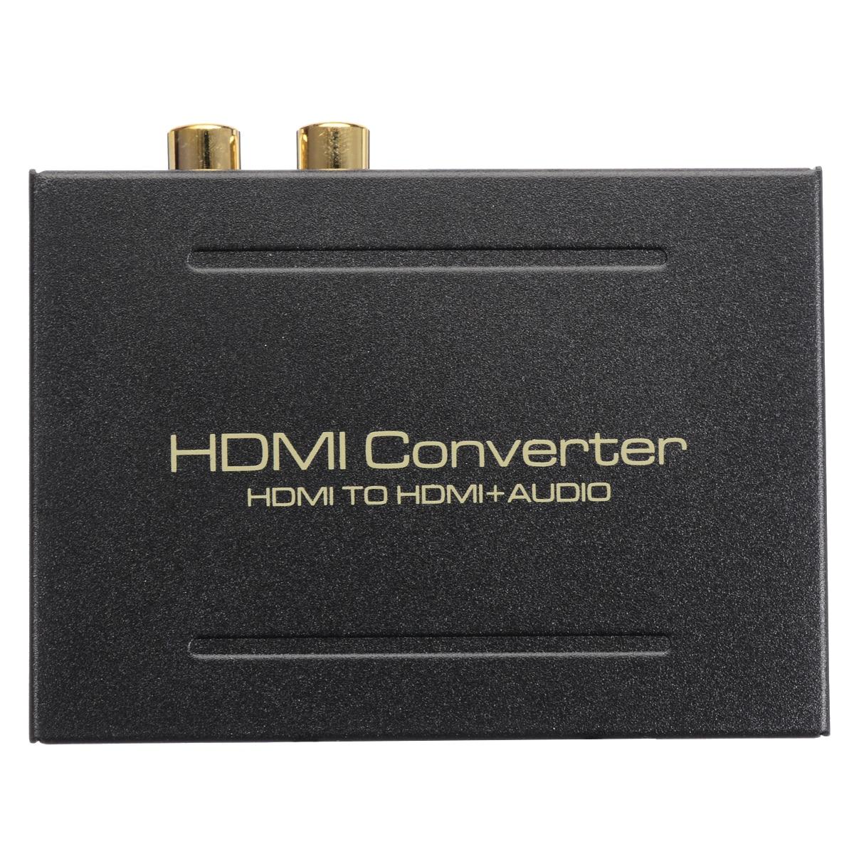 HDMI аудио экстрактор конвертер 5.1CH аудио сплиттер 1080P Стерео аналоговый HDMI к HDMI Оптический SPDIF RCA L/R адаптеры-Конвертеры