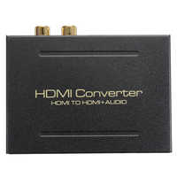 HDMI Audio Extractor Konverter 5.1CH Audio Splitter 1080P Stereo Analog HDMI zu HDMI Optische SPDIF RCA L/R adapter Konverter