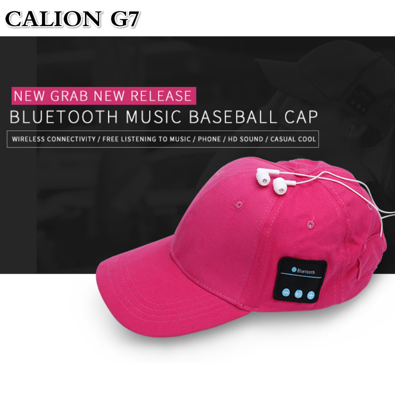 Bluetooth Wireless Baseball Cap Listen to Music Smart Phone
