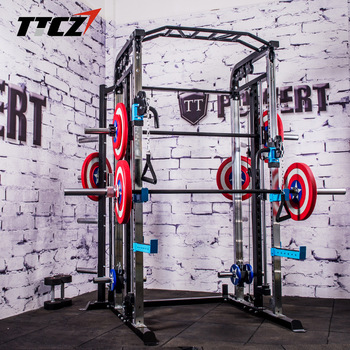 Functional Trainer Cable Crossover Station Home Gym Pulley Machine Fitness Equipment Smith Cage Multi crossfit equipment strength training