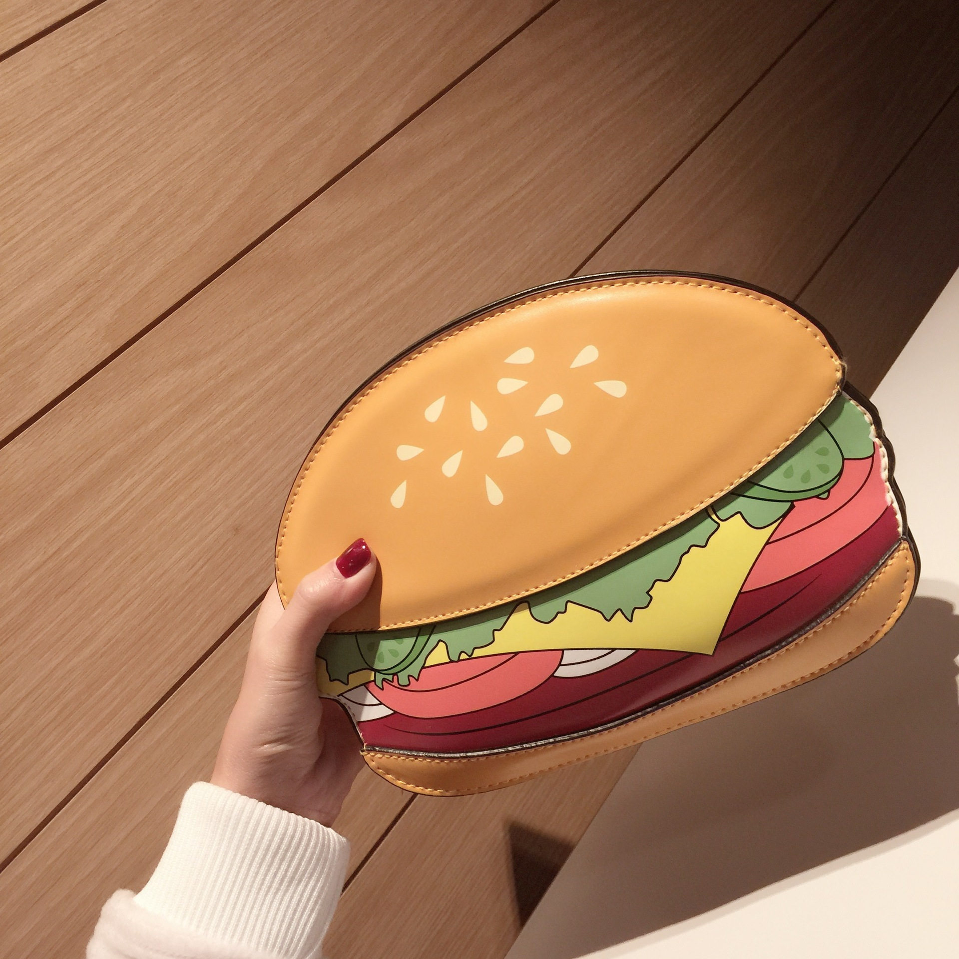 3D Cute Cartoon Women Shoulder Handbag Hamburger Ice cream Cake Bags Small Chain Clutch Crossbody Girls Messenger Bag Watermelon cartoon women ice cream cupcake mini bags casual pu leather small chain clutch crossbody girl shoulder messenger bag bolsa