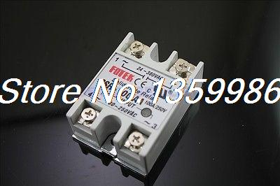 10pcs Solid State Relay SSR-100 AA AC-AC 100A/250V 80-250VAC/24-380VAC original 3 phase ac solid state relay ssr 15a 80 250vac normally open electronic switch