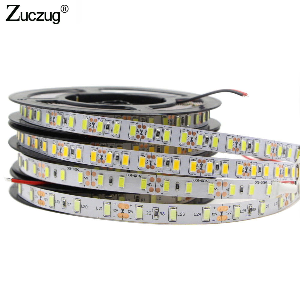 LED Strip 5730 Flexible LED Light DC12V 60LED/m Brighter than 5050 5630 LED Strip super bright for Flexible Home Decoration