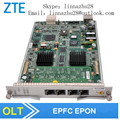 Zte 4 puertos tablero epfc para c220 epon olt, con 4 módulos (GPFA, GTGO, ETGO, GTGH, ETGH contacto)