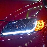 2Pcs LED Headlights For Mazda 6 2003 2013 led car lights Angel eyes xenon HID KIT Fog lights LED Daytime Running Lights