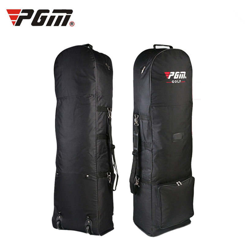 Hot Sale Original PGM Brand Golf Bag Foldable Air Golf Bag with Pulley Single-layer Consignment Waterproof Golf Bag Aviation Bag new golf aviation bag portable golf package golf travel bag pu cover thicken air bag with wheels