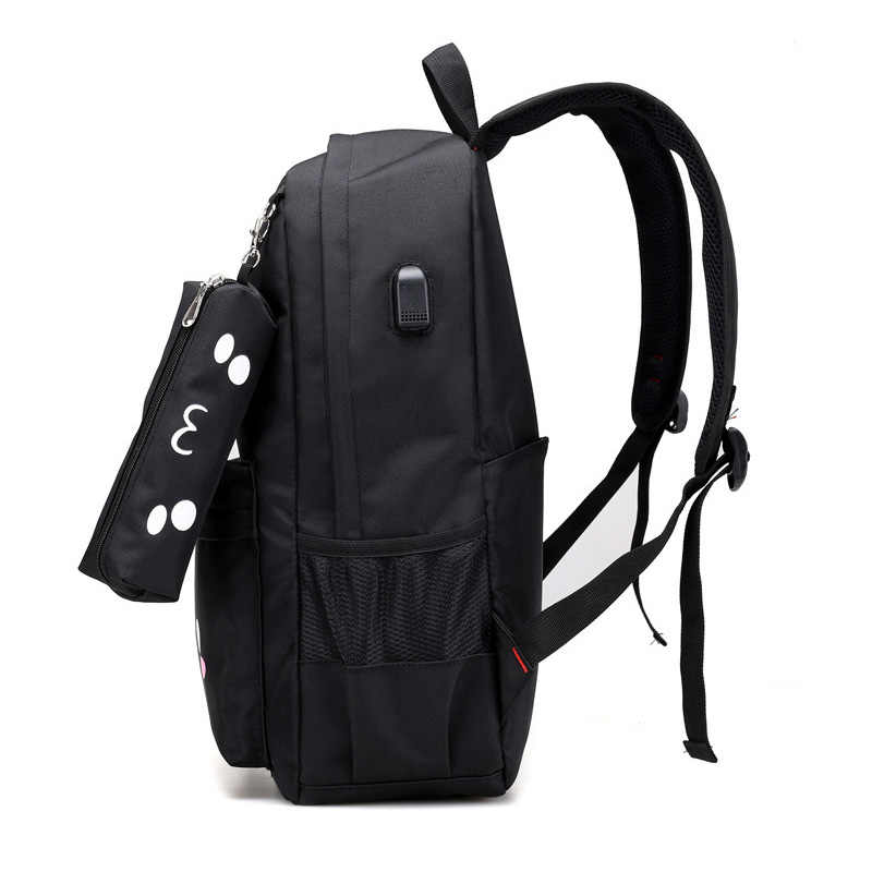 Смайлик солнце kawaii школьные сумки милые девушки школьный рюкзак emoji женские детские рюкзаки 2017 обратно в школу рюкзак обратно сумка