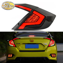 цена на Tail lights For Honda Civic G10 Taillights 10th Sedan 2017 2018 2016 12V LED Car Tail lights Taillight Rear Lamp