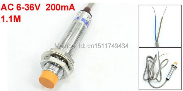 DC 6 36V PNP NPN NO 2 wire 4mm Detecting Distance Proximity Sensor ...