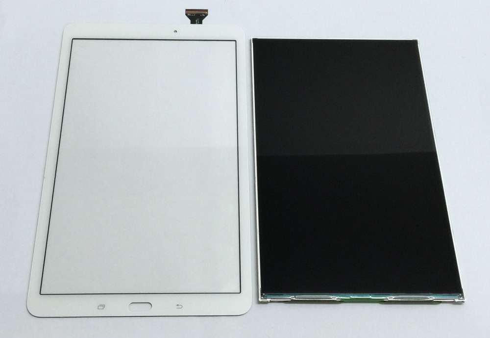 White / Grey For Samsung Galaxy Tab E 9.6 SM-T560 T560 T561 Touch Sensor Glass Digitizer Sensor + LCD Display Panel Screen планшет samsung galaxy tab tab e sm t561 8gb white sm t561nzwaser