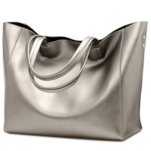 Luxury Women Designer Handbag Silver Portable Bucket Ladies Tote Shoulder Sac A Main High Quality Brand Satchel Bag Bolsos Mujer