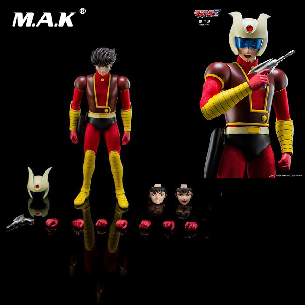все цены на Collectible DFS068 Full Set Action Figure 22cm Allloy Diecast Koji Kabuto Action Figure Series Model for Fans Gift