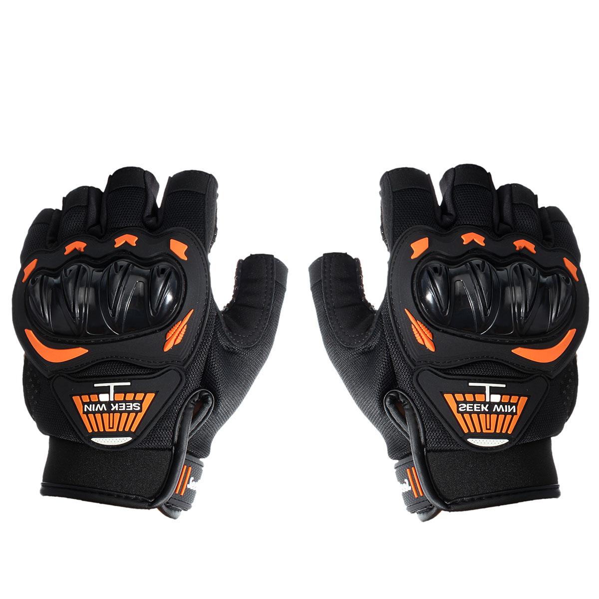 Motorcycle gloves half finger - Seek Win Sc 01b Probiker Racing Motocross Motorbike Protective Half Finger Motorcycle Gloves China