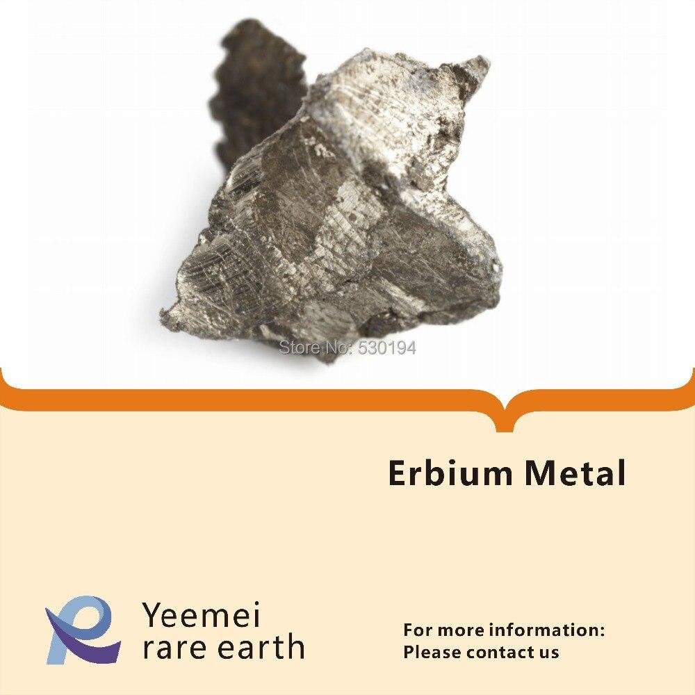 Rare earth metal -- 99.9% Erbium metal rare earth metal 99 9% dysprosium metal