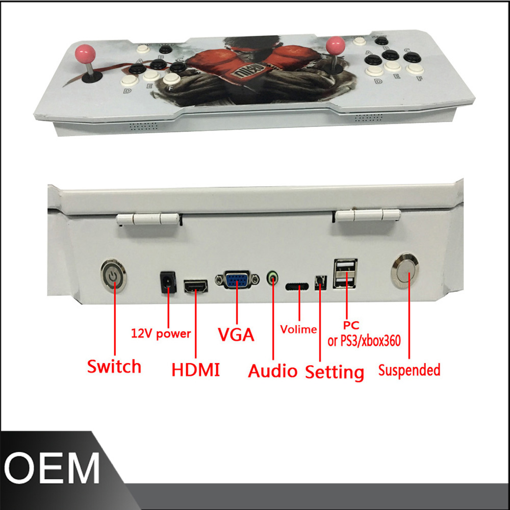 New arrival!!!  Mini game machine console  with  Pandora's Box 4S Jamma multi game board,multi games  815 in 1  game machine new arrival free shipping game elf 750 in 1 jamma multi game pcb can deal with cga