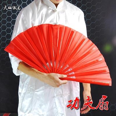 Новинка! Красный цвет для взрослых и детей Для мужчин Для женщин Тайцзи/Taichi/кунг-фу кольцо Вентиляторы производительность Танцы/красный пластиковый вентилятор /бамбук вентилятор