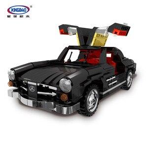 XingBao 03010 825 шт креативный MOC Technic автомобиль серии Photpong автомобиль набор строительные блоки кирпичи классическая модель автомобиля наборы ...