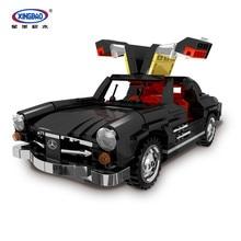 XingBao 03010 825Pcs Creative MOC Technic Car Series The Photpong Set Building Blocks Bricks Compatilbe Legoings