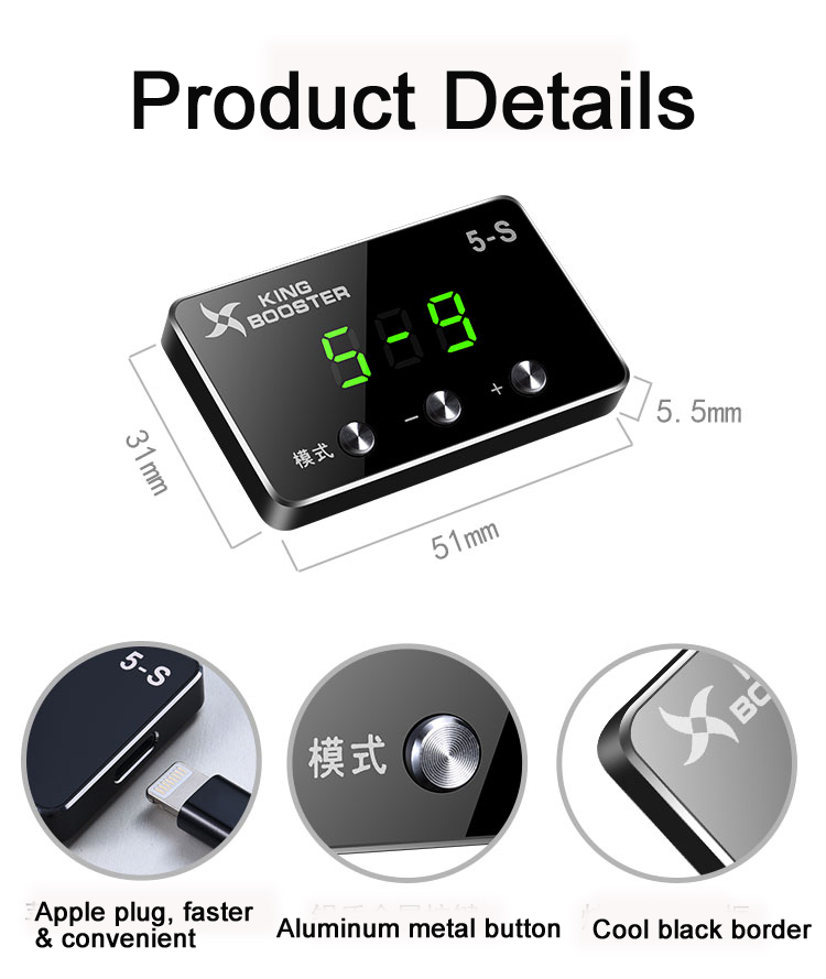 Car Electronic Throttle Controller Car Speed up For Jeep Grand Cherokee 2007+