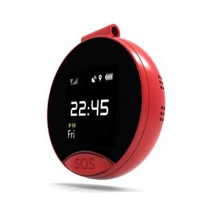 Image 2 - Najnowsze S9 inteligentny pozycjonowania GPS zegarek kieszonkowy jeden klucz dwa sposób połączeń z numerami telefonów alarmowych SOS wodoodporny, odporny na pot magnetyczne