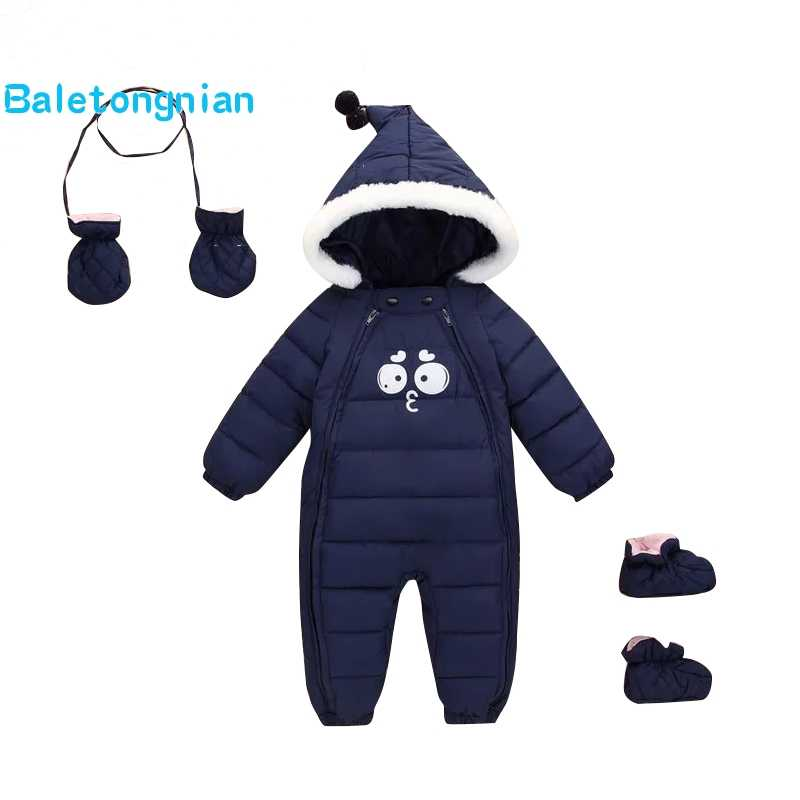 8ba9f7abf Detail Feedback Questions about 2018 Winter Panda Baby Rompers ...