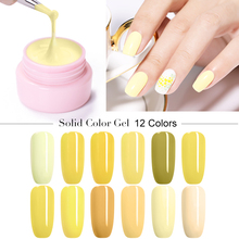 UR SUGAR 5ml Yellow Series Color Gel Polish Nail Art Soak Off  UV LED Varnish Paint Manicure