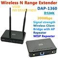 D-Link DAP-1360 300 Мбит Беспроводной Расширитель Диапазона Wi-Fi Ретранслятор Точка Доступа Мост AP WISP + 2 * 6DBi внешняя Съемная Антенна