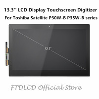 FTDLCD 13.3'' 1080P LCD Touchscreen Digitizer LP133WF3 SPA1 For Toshiba Satellite P30W B P35W B series P30W B 102 104 P35W B3204