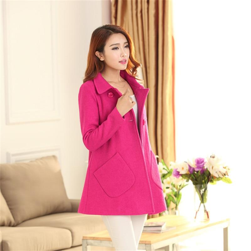 vert Bleu Manteau pourpre Mignon Qualité Sucre Dames Shcool 2018 jaune Couleur fuchsia Coréenne Style Vêtements Automne Haute Slim vm8nwNO0