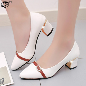 summer Office shoes Women Pumps high heels Party Simple Pointed Shallow high heels Woman Office shoes women 236