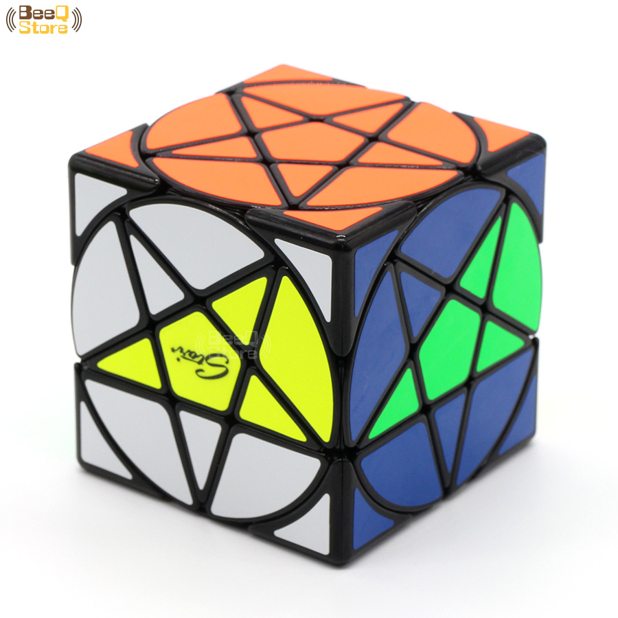 Mofangge Five-pointed Pentacle Cube Star Cube Magic Cube Special Difficult Puzzle Speed Cubo Magico Learning Education Toys Magic Cubes