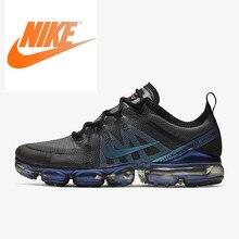 Оригинальный Nike Оригинальные кроссовки Air VaporMax 2019 мужские кроссовки для бега, дышащие кроссовки уличные спортивные дизайнерская женская обувь, AR6631-001