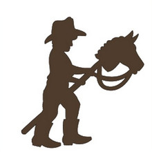 Character Holding A Horses Head Cane Metal Cutting Dies for Scrapbooking New 2019 Die Cuts Card Making Stitch Craft Stencil