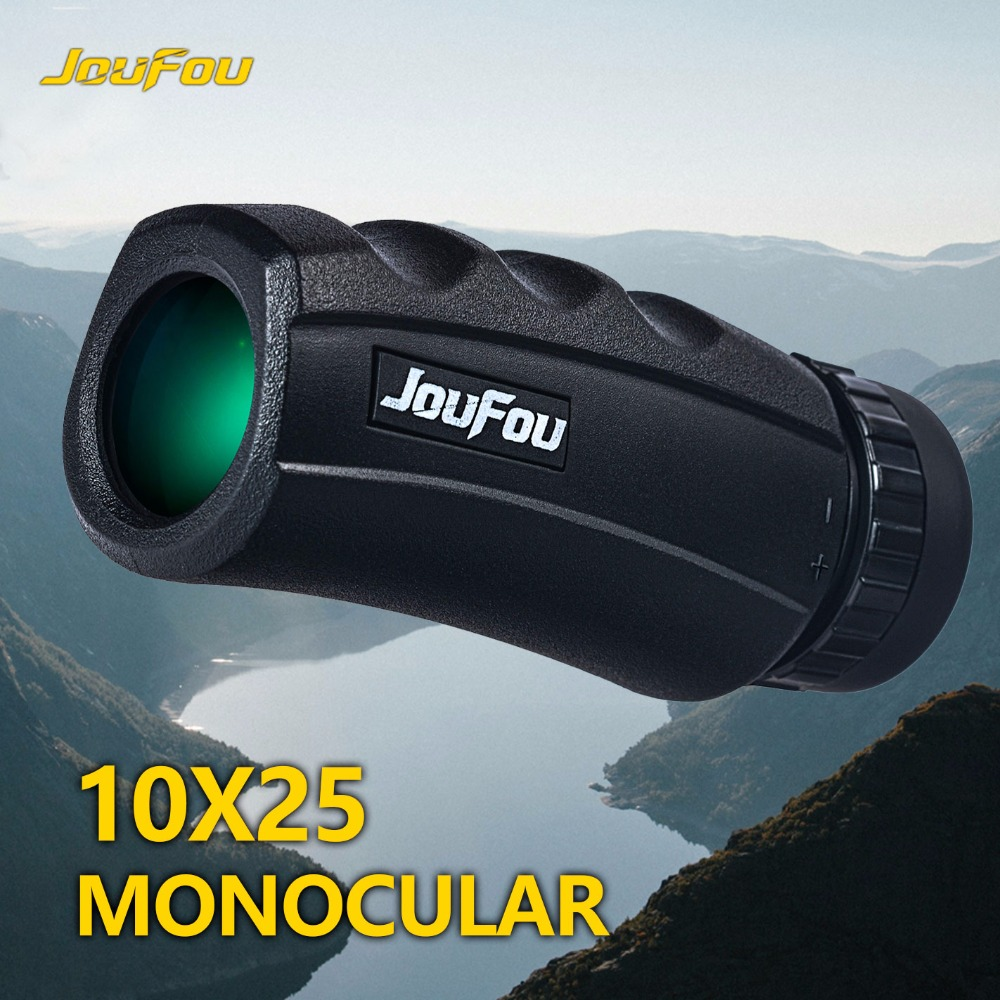 JouFou font b Knife b font Shadow 10X25 Monocular Scope HC Coating Waterproof Monocular Bak4 FMC
