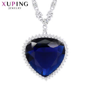 Xuping Heart Shape Pendant Necklace With Synthetic Cubic Zirconia Jewelry for Women Christmas Day Gifts M11-43164 - DISCOUNT ITEM  53% OFF All Category