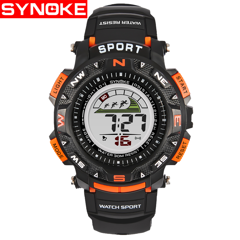 SYNOKE Kinderen LED Horloges Back Light Sport Kids Digital Horloges - Kinderhorloges - Foto 3