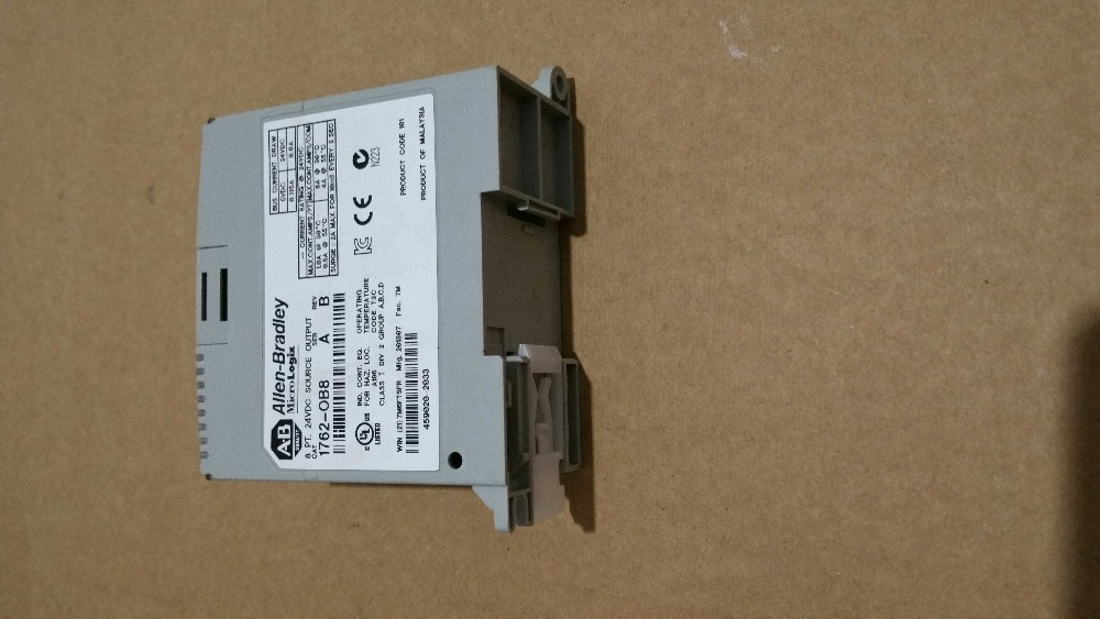 1762-OB8(used) Output Module In Good Condition s70601 na s700 used in good condition