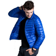 2015 Autumn Winter Duck Down Jacket, Ultra Light Thin plus size winter jacket for men Fashion mens Outerwear coat