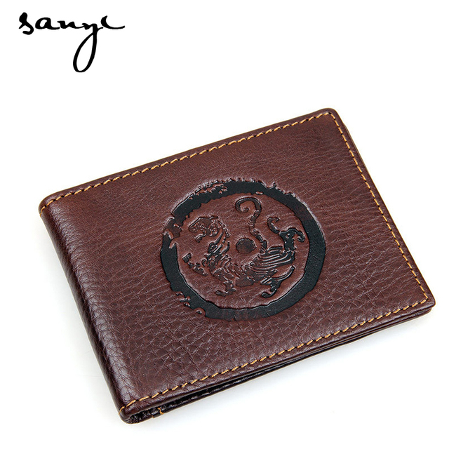 High Grade Leather Wallet Wallet ID Card Driver's License Wallet