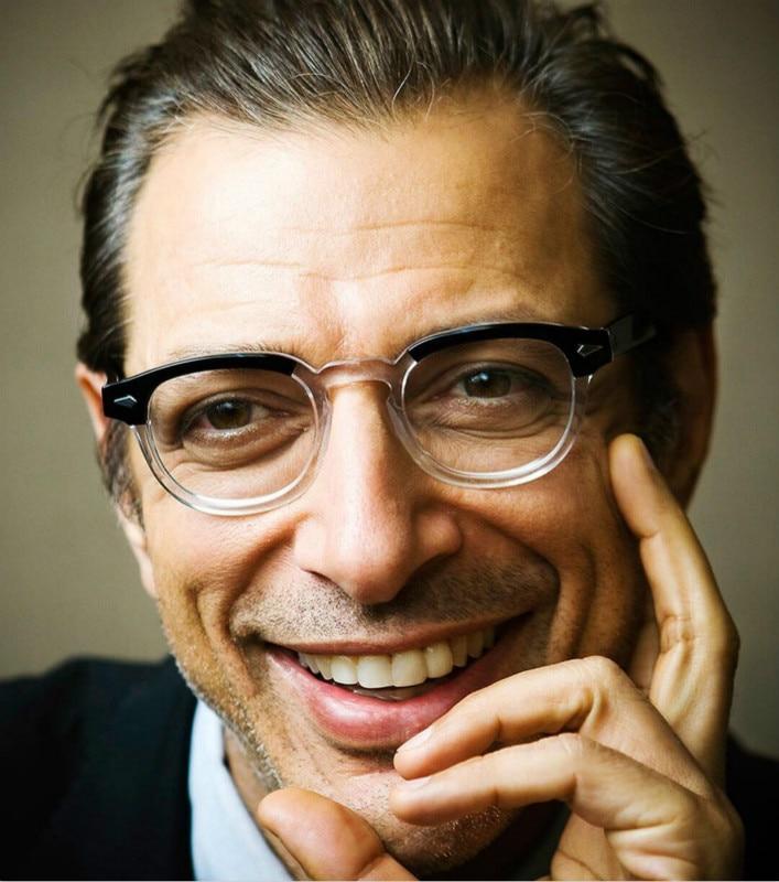 2019 New Johnny Depp Style Glasses Men Retro Vintage Prescription Eyeglasses Women Optical Spectacle Frame Clear Lens Black