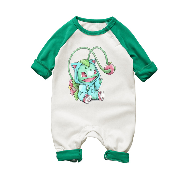 2017 Cute Anime Baby Boys Cartoon Rompers Newborn Baby Romper