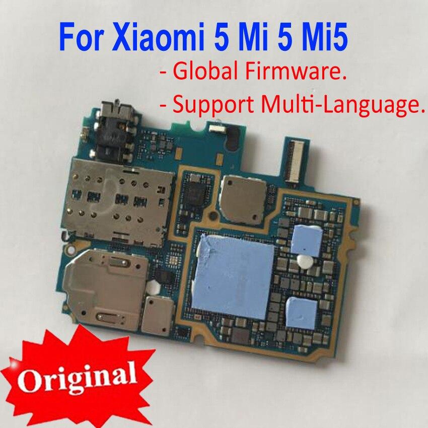 Original testé bien déverrouiller la carte mère pour Xiao mi 5 mi 5 mi 5 M5 carte mère frais chipsets pièces