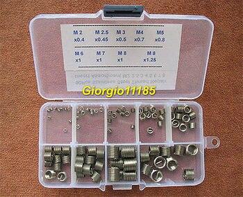 M2 5 Vite | 90 Pz In Acciaio Inox Filo Riparazione Inserto Kit Assortimento M2 2.5 3 4 5 6 7 8