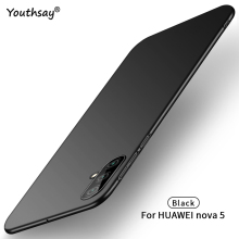 For Huawei Nova 5 Case Ultra-thin Smooth Hard PC Protective Anti-knock Cover Youthsay