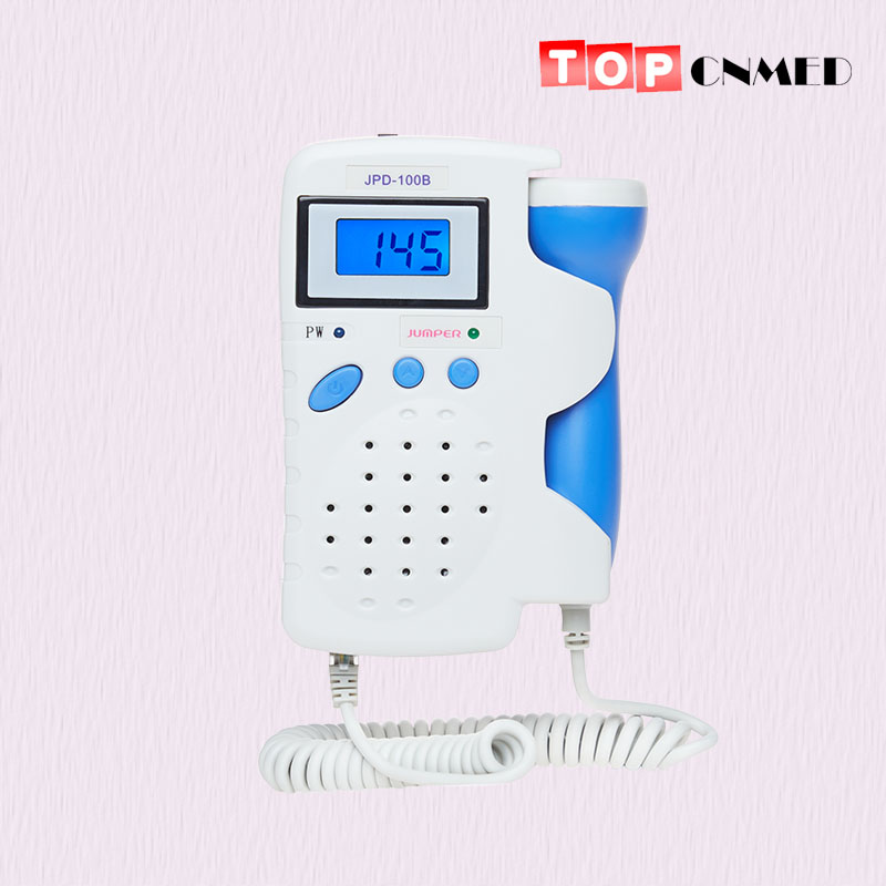 Hot Fetal Doppler Monitor Baby Heart Beat Backlight LCD display Rechargeable Battery
